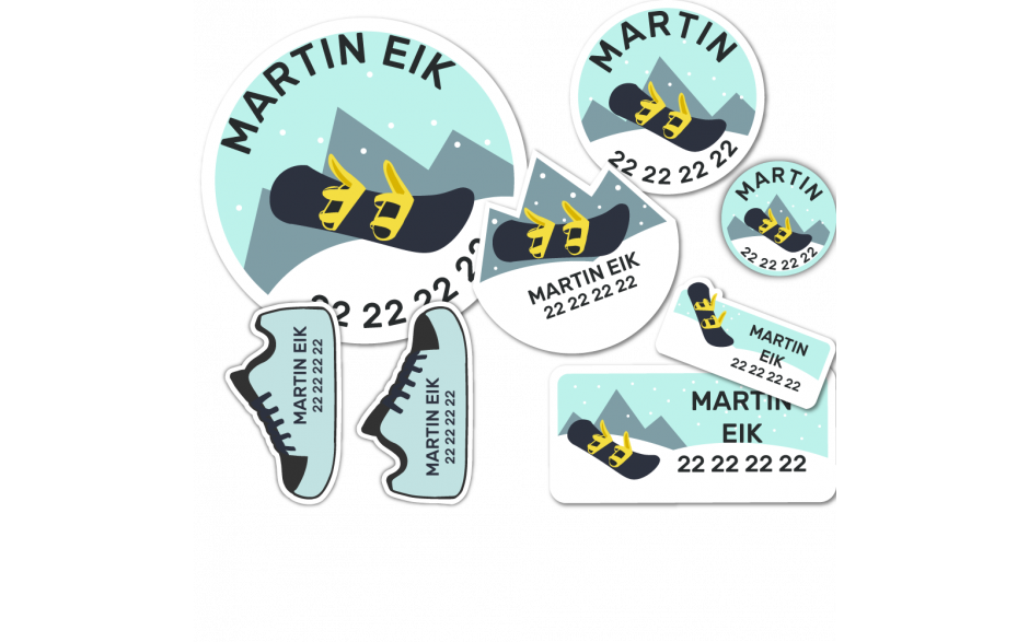 Maxipakke Snowboard