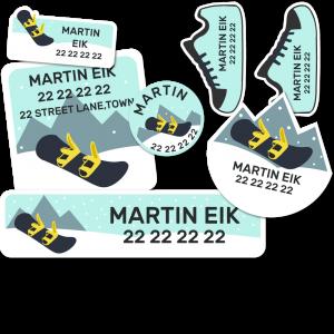 Startpakke Snowboard