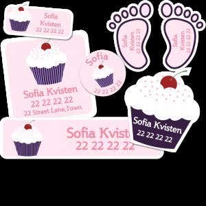 Startpakke Cupcake